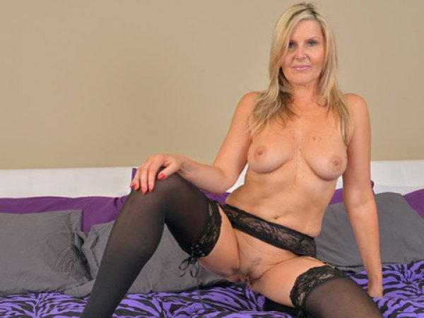 Blonde Milf In Stockings Velvet Skye Loves To Masturbate With Her Fingers Yes Porn Please 1
