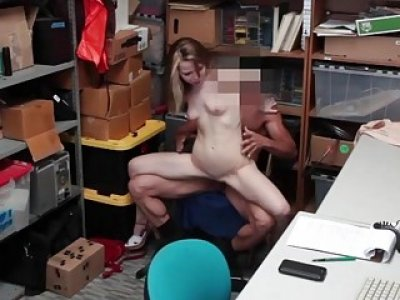 LP Officer ravaging on Alina Wests pussy