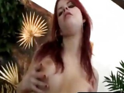 Redhead Seduces Guy And Rims His Asshole Before Using Strap-on
